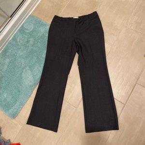 Modern Fit Calvin Klein dress pants (Dark Grey)